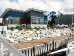 Boat Brokers of Tasmania office at Oyster Cove Marina Kettering